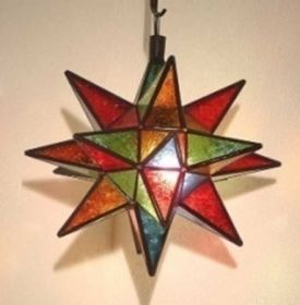 Star hanging lamp